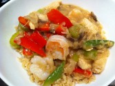 Photo of Chicken And Shrimp Vegetable Stir Fry