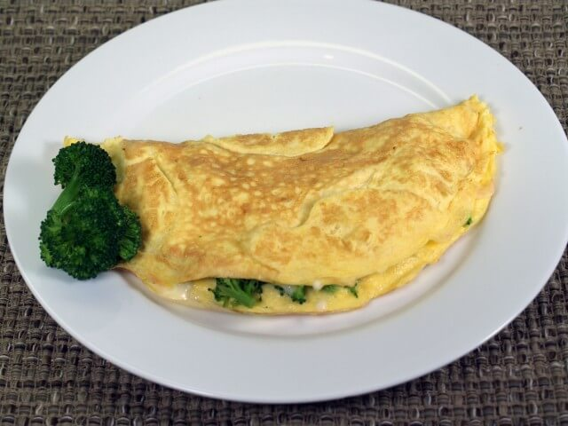 feta cheese omelet roll goat cheese and fresh herb omelet broccoli ...