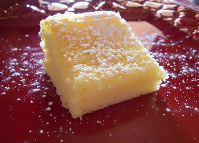 Angel Lemon Bars Recipe