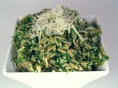 Photo of Spinach Parmesan Orzo