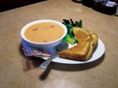 Actual 4Bs Tomato Soup & Grilled Cheese I took in 2009. YUM!!!