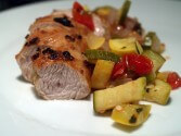 Photo of Zesty Turkey Tenderloin With Vegetables