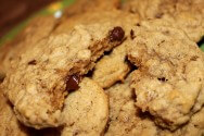 I used chocolate chips instead of raisins, but they turned out AMAZING! (Living at 9100\' ft.)