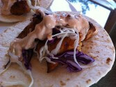 Photo of Mahi Mahi Soft Tacos with Chipotle Yogurt Sauce