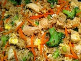 Photo of Chicken Carrot Fried Rice