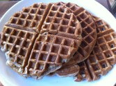 Photo of Apple Cider Waffles Recipe on CDKitchen
