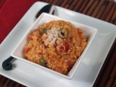 Photo of Oven Baked Spicy Rice Recipe on CDKitchen