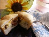 Photo of Low-Fat Bacon, Egg And Cheese Pancake Muffins Recipe on CDKitchen