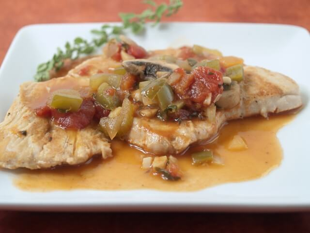 Turkey Cutlets Creole Recipe
