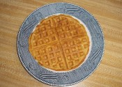 Photo of Sweet Potato Buttermilk Waffles Recipe on CDKitchen