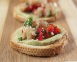 Photo of Avocado Shrimp Bruschetta
