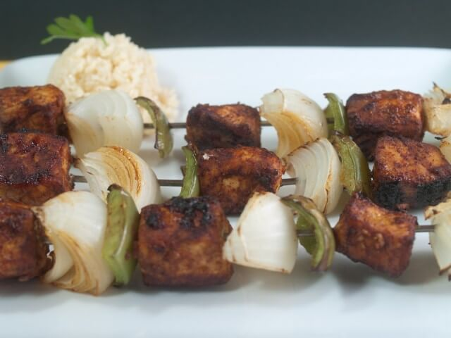how to cut bell peppers for kabobs