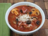 Pizza Soup Recipe in the Crock Pot