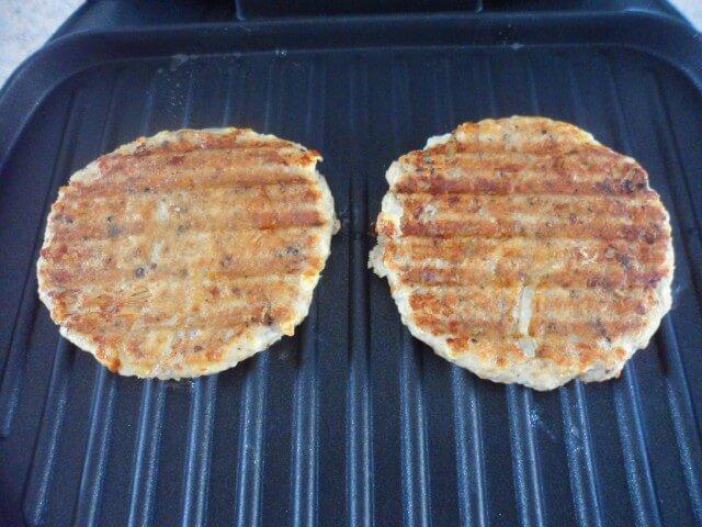 Lowfat Salmon Patties George Foreman Grill Recipe ...