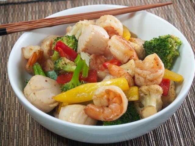Saucy Seafood Stir-Fry