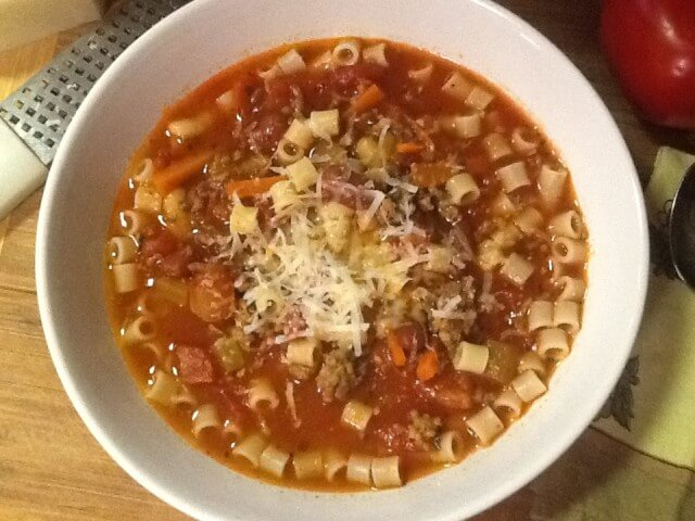 ... pasta fagioli soup recipe add it back into your soup soup pasta e