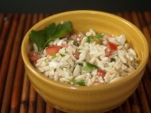Orzo And Tomato Salad With Feta Cheese Recipe