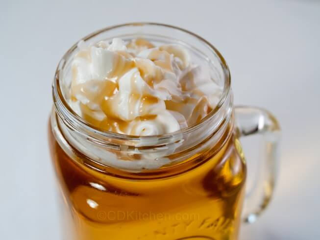 Starbucks' Caramel Apple Cider Recipe