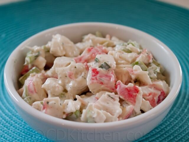 recipe: cold seafood salad recipe with crabmeat and shrimp [11]
