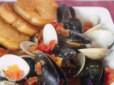 Photo of Little Neck Clams And Mussels In A Spicy Broth Recipe on CDKitchen