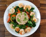 Photo of Thai Shrimp And Spinach Curry Recipe on CDKitchen