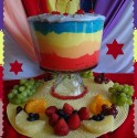 Photo of Dazzling Rainbow Fruit Salad
