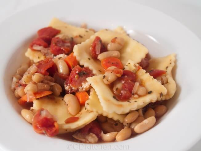 recipe for all-day ravioli stew