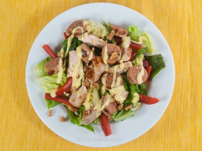 recipe for grilled cajun chicken salad
