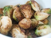 Photo of Low Carb Fried Brussels Sprouts