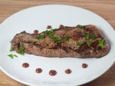 Photo of New York Strips with Mesa Steak Sauce