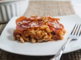 Photo of Meat Lovers Pizza Casserole
