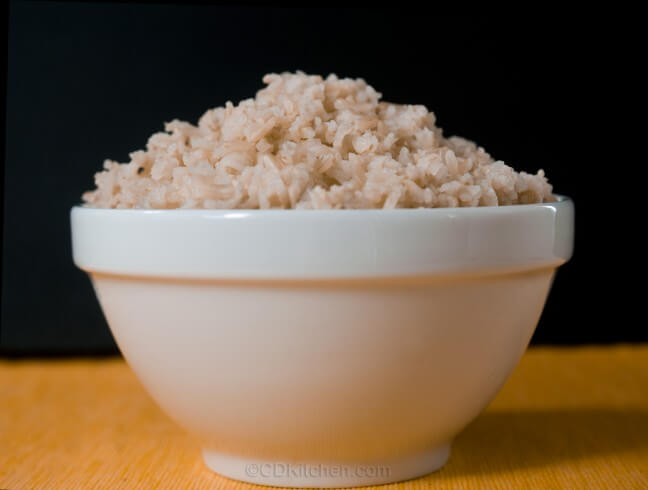 recipe for brown rice