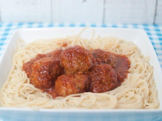 Authentic italian meatballs recipe cdkitchen com