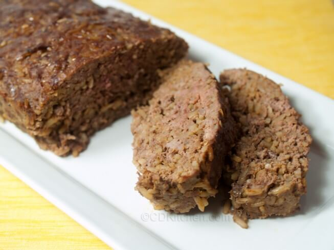 Easy Spanish Meatloaf Recipe | CDKitchen.com