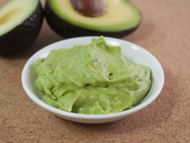 Featured recipe: Avocado Hand Mask
