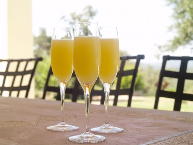 Non-Alcoholic Mimosas Recipe