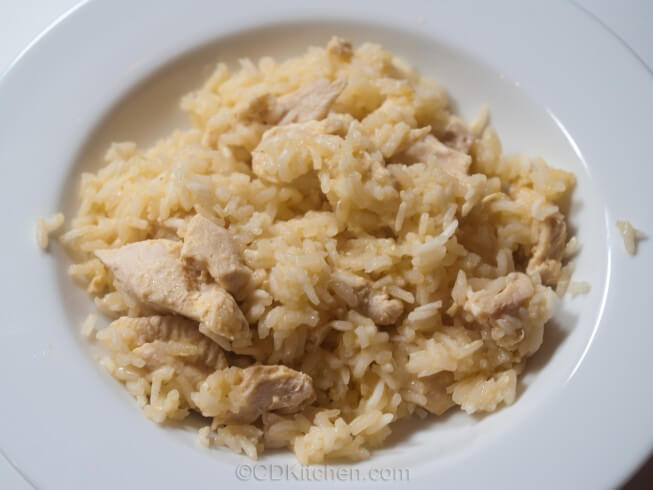 Chicken And Orange Rice Casserole Recipe from CDKitchen