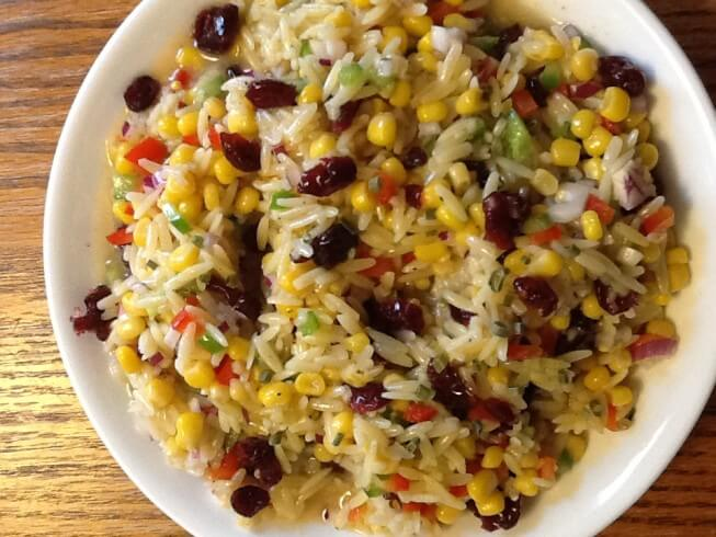 J. Alexander's Orzo and Wild Rice Salad