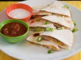 Photo of Pork And Cheese Quesadillas