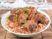 Photo of Meatballs With Sweet Orange Chipotle