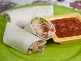 Photo of Shredded Pork Wraps Recipe on CDKitchen