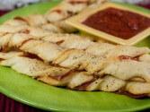 Bread stick recipes cdkitchen for Olive garden breadsticks frozen