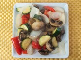 Photo of Roasted Mushrooms And Mixed Vegetables