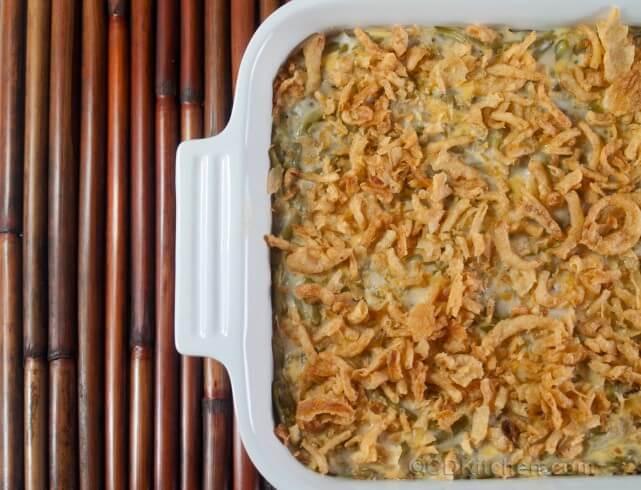 Featured recipe: Best Ever Green Bean Casserole