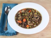 Photo of Wild Rice And Mushroom Soup