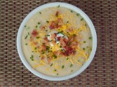 Photo of Loaded Baked Potato Soup Recipe on CDKitchen
