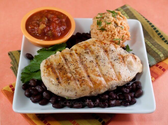 Margarita Grilled Chicken Recipe — Dishmaps