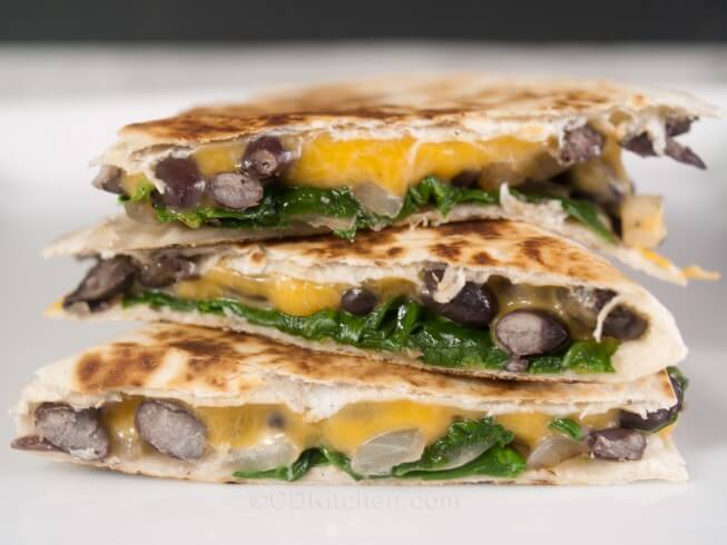 black bean avocado and red pepper quesadilla chicken black bean ...