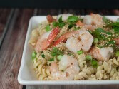 Photo of Shrimp & Pasta Stir Fry Recipe on CDKitchen