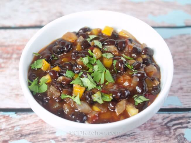 El Pollo Loco Black Beans Recipe